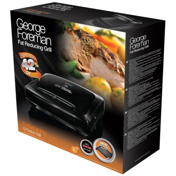 George Foreman 24340-56 Vendégváró grill levehető sütőlappal
