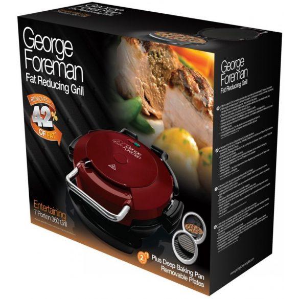 George Foreman 24640-56 Vendégváró 360 grill (Pizza sütő)