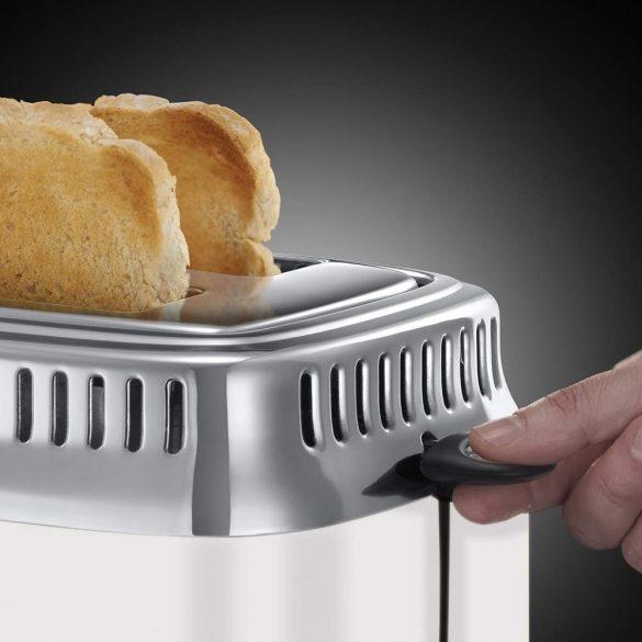 Russell Hobbs 21683-56 Retro fehér kenyérpirító