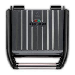 George Foreman 25041-56 Steel családi szürke grill