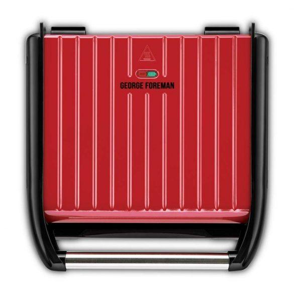 George Foreman 25050-56 Steel vendégváró piros grill